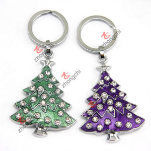 Metal Christmas Keychain for Festival Promotion Gift (KR18) pictures & photos