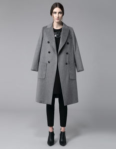 Newest European Design Fashion Women Fashion Winter Wool Long Coat pictures & photos