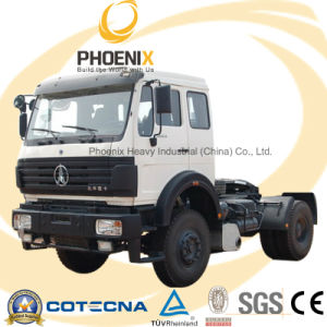 Africa Hot Sale North Benz 4X2 270HP Euro2 Beiben Heavy Duty Truck with Benz Quality pictures & photos