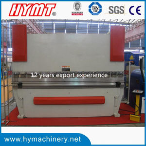 WC67Y-160X3200 NC control steel plate hydraulic press brake pictures & photos