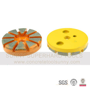 Grit 16 3 Inch Concrete Diamond Grinding Disc pictures & photos