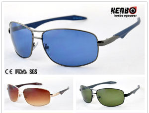 New Design Spuare Frame Fashion Metal Unisex Sunglasses for Accessory, 100%UV Protection, CE FDA SGS Km15069 pictures & photos