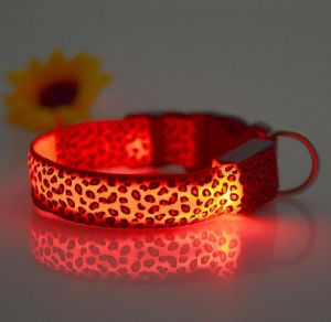 Colorful Design LED Pet Collar pictures & photos