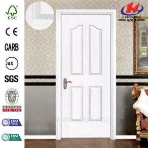 Great Size 5 Panels Uncommon Slab Wooden Door pictures & photos