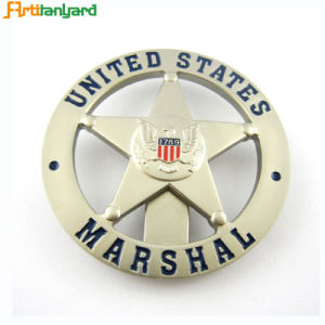 Fashion Metal Badge with Name Badges pictures & photos