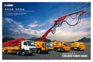 XCMG Official Manufacture Hb55k Concrete Pump with Mixer Price pictures & photos
