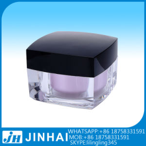 (T) 15g Acrylic Cosmetic Containers Cream Jar pictures & photos