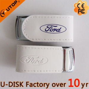 Custom Leather USB Flash Drive Promotion Gift (YT-5116) pictures & photos