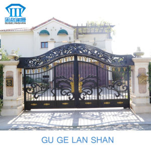 Rust-Proof/Antiseptic/ High Quality Crafted Wrought Iron Gate pictures & photos