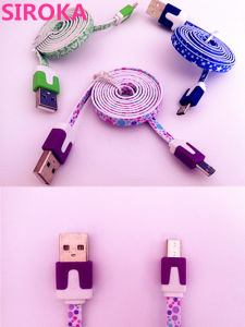 High Quality Cheap Micro USB Data Charge Cable for Samsung Smart Phone pictures & photos