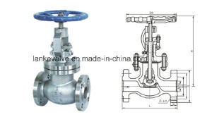 ANSI Flang Globe Valve with Stainless steel pictures & photos