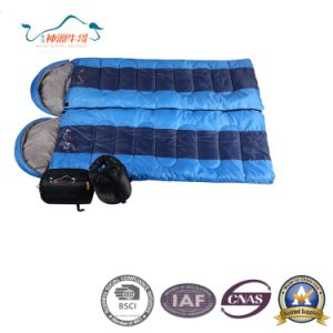 Double Envelope Sleeping Bag Can Be Spliced pictures & photos