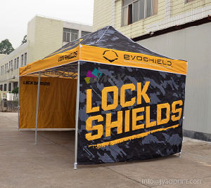 Free Shipping 20FT Quality Premium Advertising Hexagonal Aluminum Folding Tent pictures & photos