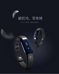 Smart Bracelet with Separate Bluetooth Earphone 2 in 1 Smartband and Bluetooth TPU Material pictures & photos
