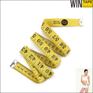 PVC Fiberglass Branded Custom Tailor Yellow Tape Measure (FT-057) pictures & photos