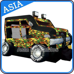 Outdoor Inflatable Military Jeep Car Bouncer for Party pictures & photos
