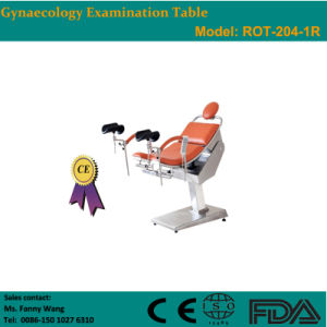 2015 Promotion! ! Electric Gynaecology Examination & Operating Table (ROT-204-1R) -Fanny pictures & photos