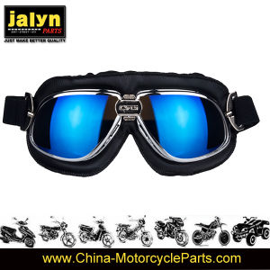 ABS Fashionable Harley Type Goggles for Motorcycle pictures & photos
