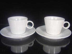 Porcelain Coffee Cups with Logo Printing