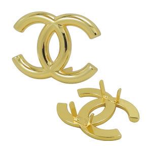 Custom Gold Metal Handbag Logo pictures & photos
