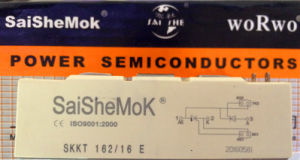 Silicon Rectifier, SCR (SKKT162-16) pictures & photos