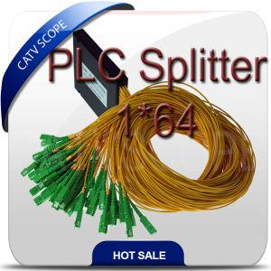 PLC Optical Coupler Splitter 1*64/Gpon, FTTH Fiber Optic 1X8 PLC Splitter 1*64