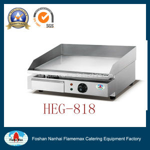 High Quality Stainless Steel Electric Flat Griddle Made in China Factory Supplier pictures & photos