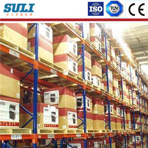 High Storage Density Metal Shelf Industrial Warehouse Pallet Racking pictures & photos