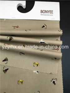 Finished Farbic 100% Cotton Poplin Brown Ground Printed Little Animals pictures & photos