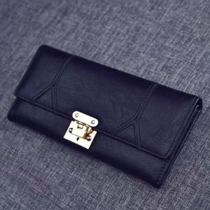 Wholesale Retro Style Wallet Bag Splice Shopping Leather Purse (XQ0665) pictures & photos