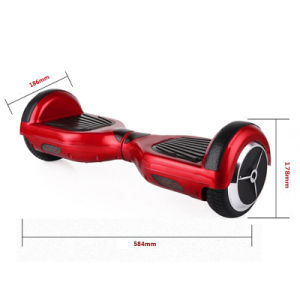 Best Selling 6.5inch Red Two Wheel Smart Balance Electric Scooter