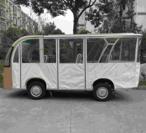 Eight Seat Electric Shuttle Bus Passenger Carrier pictures & photos