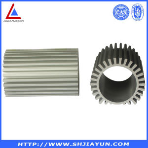 Anodized 6063 T5 Aluminum Extrusion Profile for LED Bulb Aluminium Heatsink pictures & photos