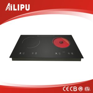 Built-in Induction Cooker with Touch Control and Two Burner pictures & photos