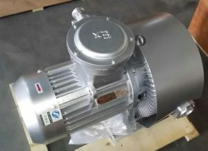 CE Mark Atex Ie2 Explosion Proof Motor Side Channel Ring Blower (820H17) pictures & photos