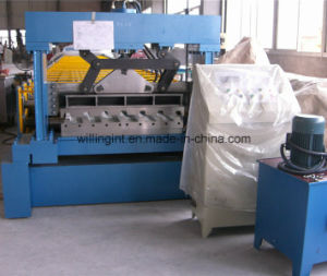Popular Type Trapzoidal Deck Floor Roll Forming Machine pictures & photos