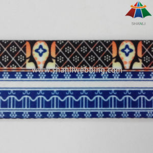 Eco-Friendly 2 Inch Heat Transfer Printed Webbing for Guitar Straps pictures & photos