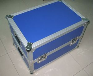 Heavy Duty Aluminum Case with Butterfly Lacthes pictures & photos
