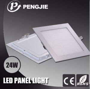 24W Square White LED Panel Light for Indoor with CE pictures & photos
