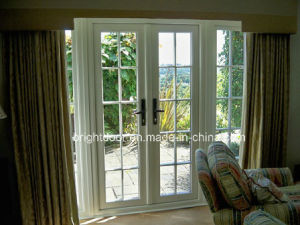 UPVC White Internal French Doors pictures & photos