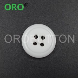New Design Colored Polyester Resin Garment Buttons
