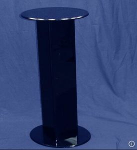 Acrylic Pedestal Black Display (HY-YX111162)