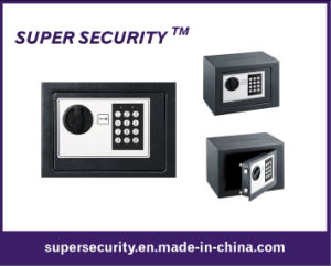 Mini Compact Electronic Digital Home Security Solid Steel Safe (SJD23) pictures & photos