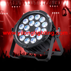 New 18X15W Rgbawuv Aluminum LED PAR Disco Light