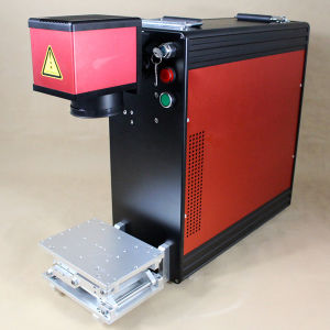 10W Cheap Laser Marking Machine for Earring Rings Lighters pictures & photos