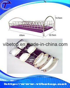 Kitchen Stainless Steel Dish Drying Rack (VKH-015) pictures & photos