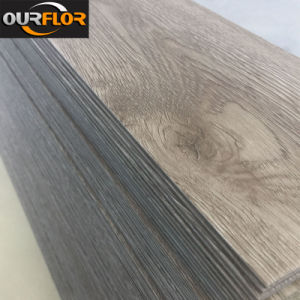 Wood Grain PVC Vinyl Flooring Tiles/ PVC Dy Back/ PVC Glue Down (2mm, 2.5mm, 3mm) pictures & photos