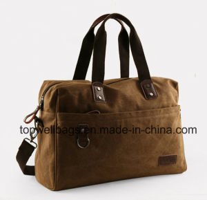 2017 Fashion Washed Canvas Bag