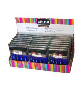Blue 10 PCS Brush Set pictures & photos