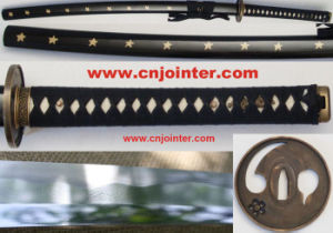 Handmade Katana with Scabbard 105cm T-18 pictures & photos